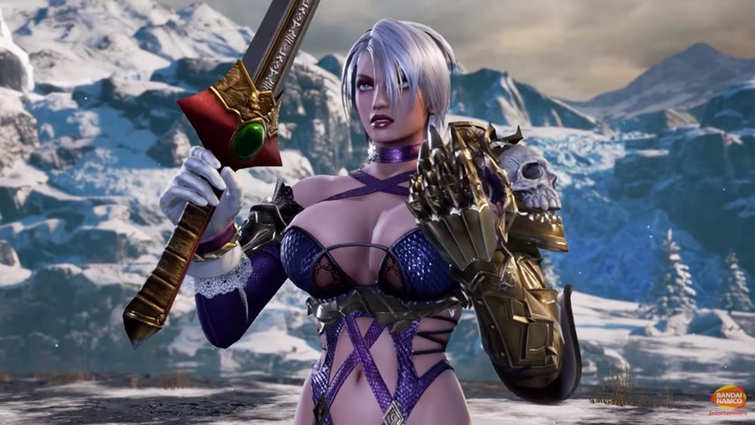 Ivy Valentine from Soul Calibur